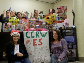 CCRW ES and NBESS give back