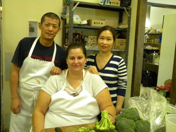 Tammy, Gary and Nina